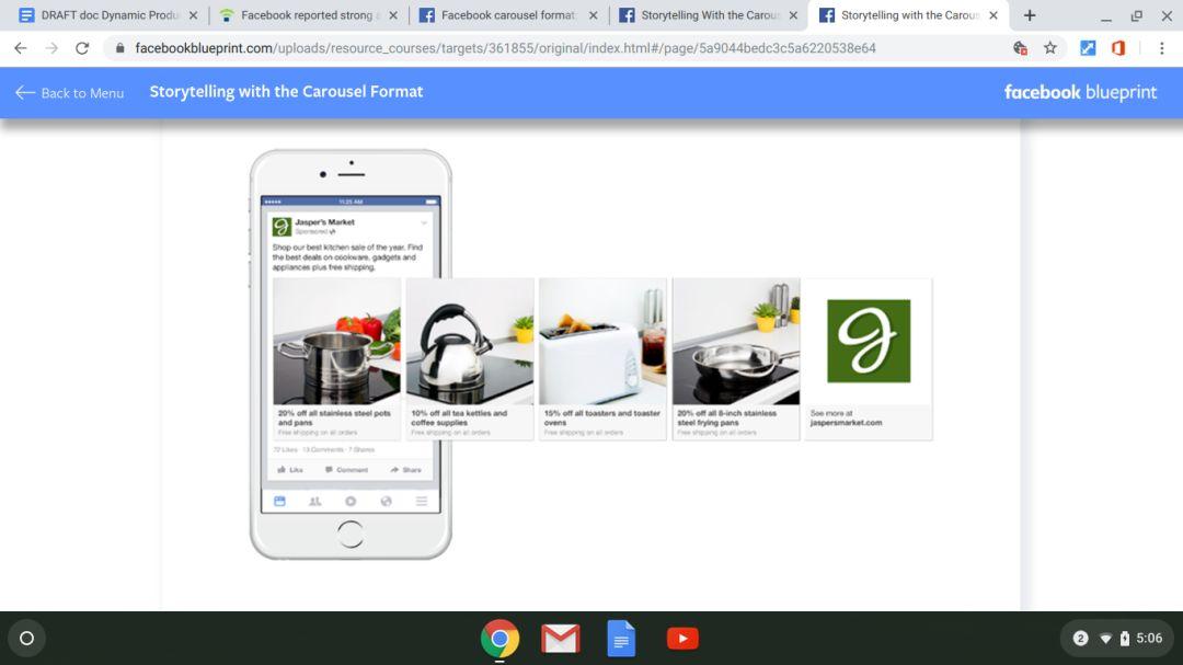 Facebook动态广告:广告功能、投放技巧