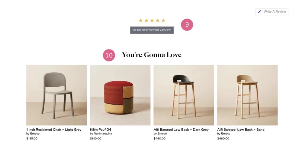 在线销售家具