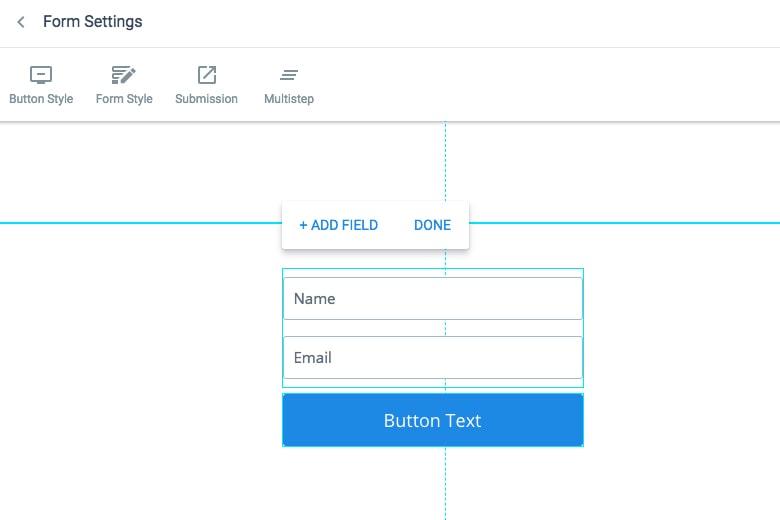 Builder Edit Form